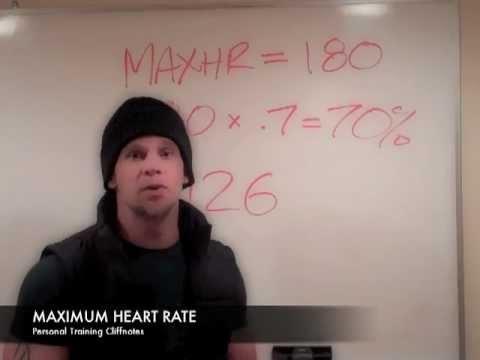 Maximum Heart Rate — Personal Training