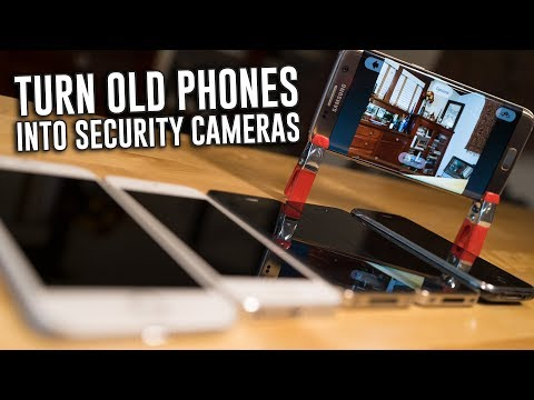 How To Turn Your Phones Into WiFi Security Cameras