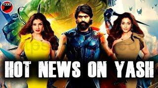 Hot Update On KGF Superstar Yash    #RockyBhai #Yash #kgf2