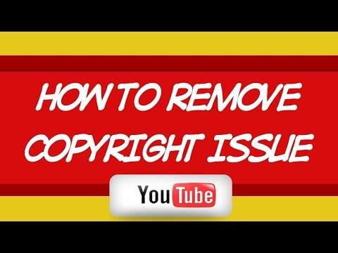 How To Remove a Copyright Strike/ Copyright Claim from your YouTube Account