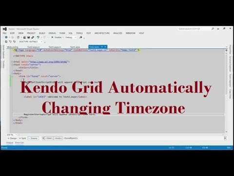 Kendo Grid Automatically Changing Timezone