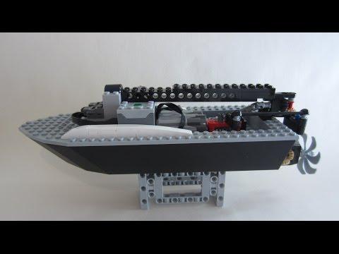 LEGO RC Boat