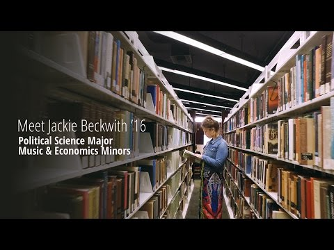 Jackie Beckwith '16 shares her Gettysburg College experience