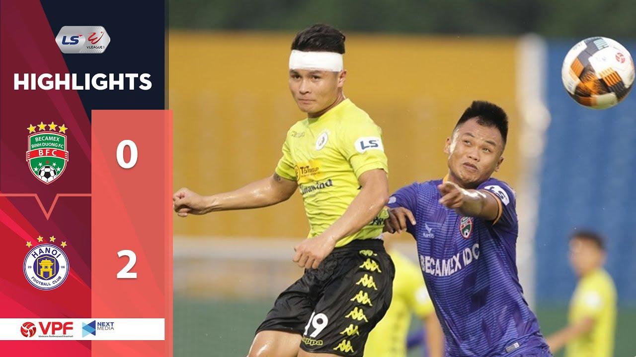 Highlights | Becamex Bình Dương - Hà Nội FC | Va chạm nảy lửa và 9 phút bù giờ | VPF Media