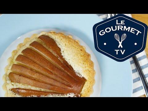 Pear Frangipane Tarts Recipe - Le Gourmet TV Recipes