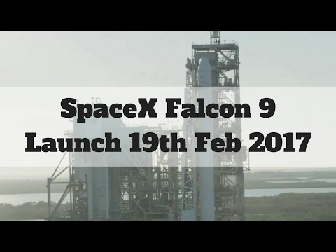 SpaceX - Falcon 9 CRS-10 - Launch footage - 19/02/2017