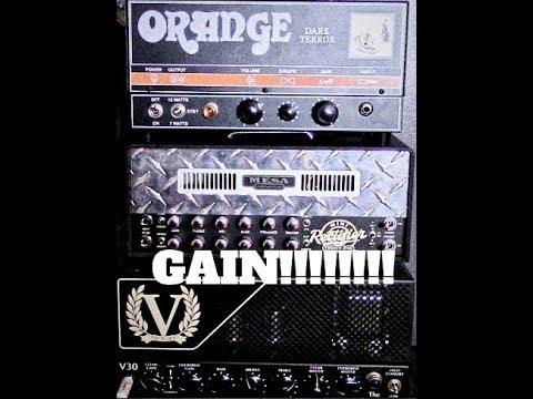 Orange Dark Terror Vs Mesa Boogie Mini Rectifier Vs Victory Countess V30