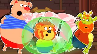 Lion Family 🧝 Spiderwick Chronicles | Cartoon for Kids