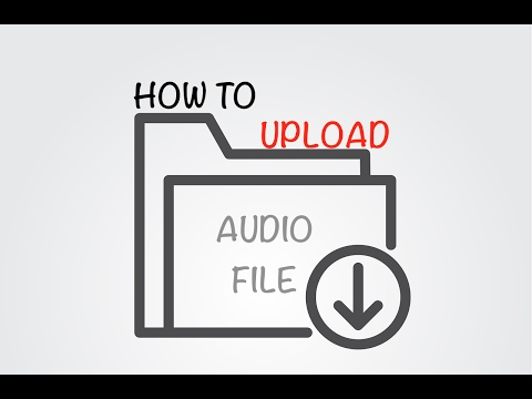 How to upload an audio file to youtube from your MAC | How quickly convert and upload an audio file