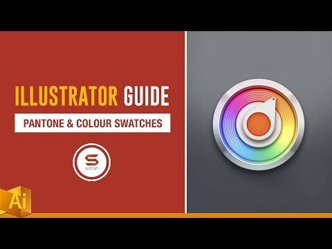 PANTONE COLOUR AND SWATCHES ADOBE ILLUSTRATOR GUIDE