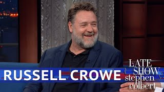 Download Russell Crowe Reunited With His 'Gladiator' Horse Video