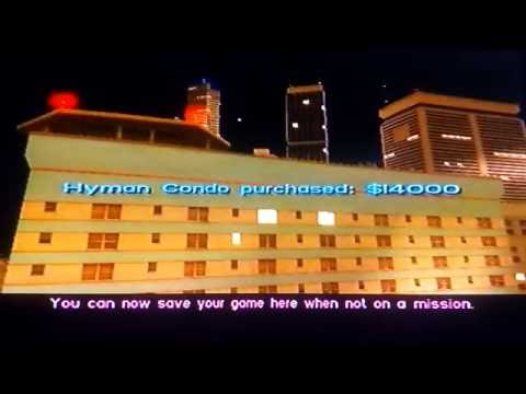 How to buy safehouses in gta vice city -