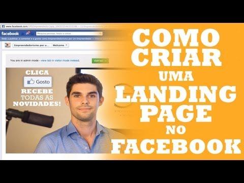 Criar uma Landing Page no Facebook