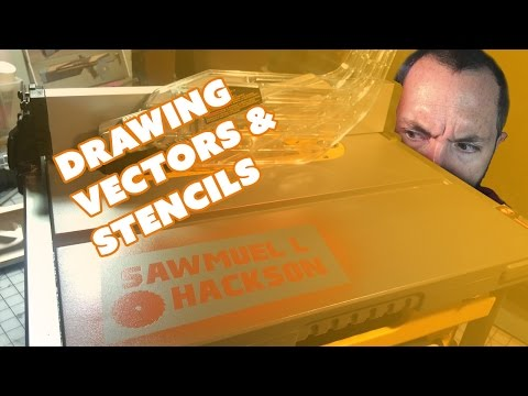 How to Draw Vectors for Vinyl Cutting & Stencils - Prop: Live from the Shop