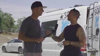 Interview with Fast Eddie at SoCal Supermoto (9th time as a student!) ~ MotoJitsu