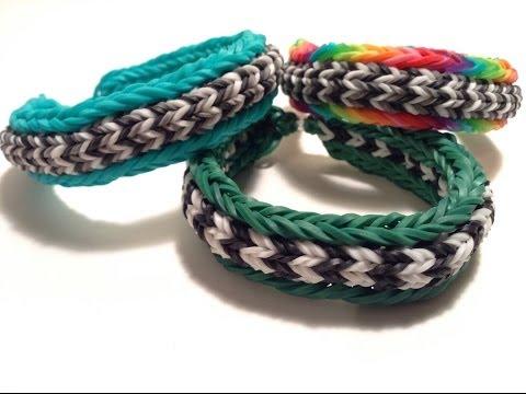 Chevron Stripe Bracelet Tutorial