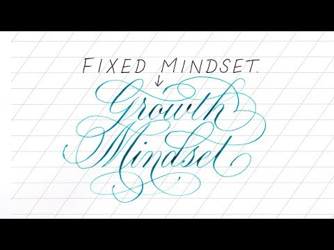 Change Your Mindset to Improve Your Lettering
