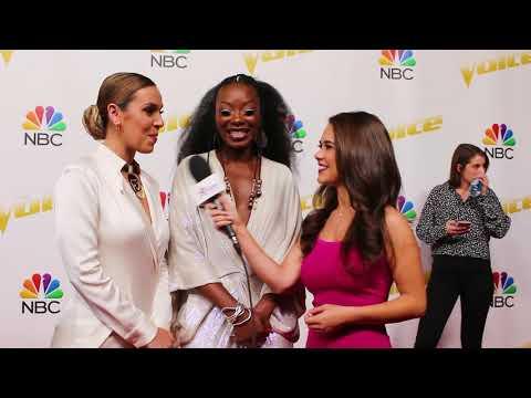 Team Alicia Keys REVEAL Her SECRET To Success & Talks The Voice FASHION!