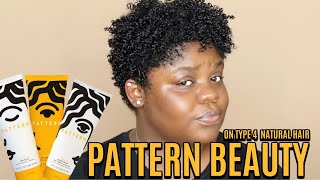 Pattern Beauty By Tracee Ellis Ross on Type 4 Natural Hair