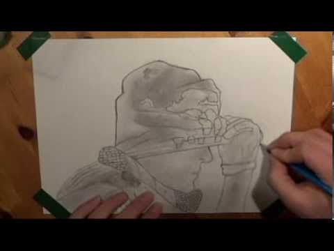 Call of Duty Ghost drawing [SindeGam]