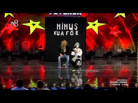 Yetenek Sizsiniz Mimus'un 2.Tur Performansı (6.Sezon 42.Bölüm)