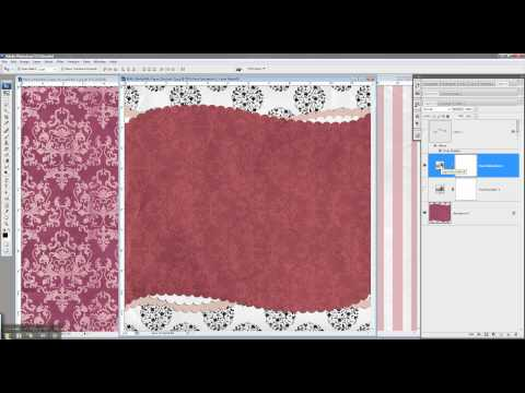 Digital Scrapbooking Tutorial: Recoloring Digital Scrapbooking Papers & Embellishments