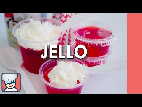 How to make jello