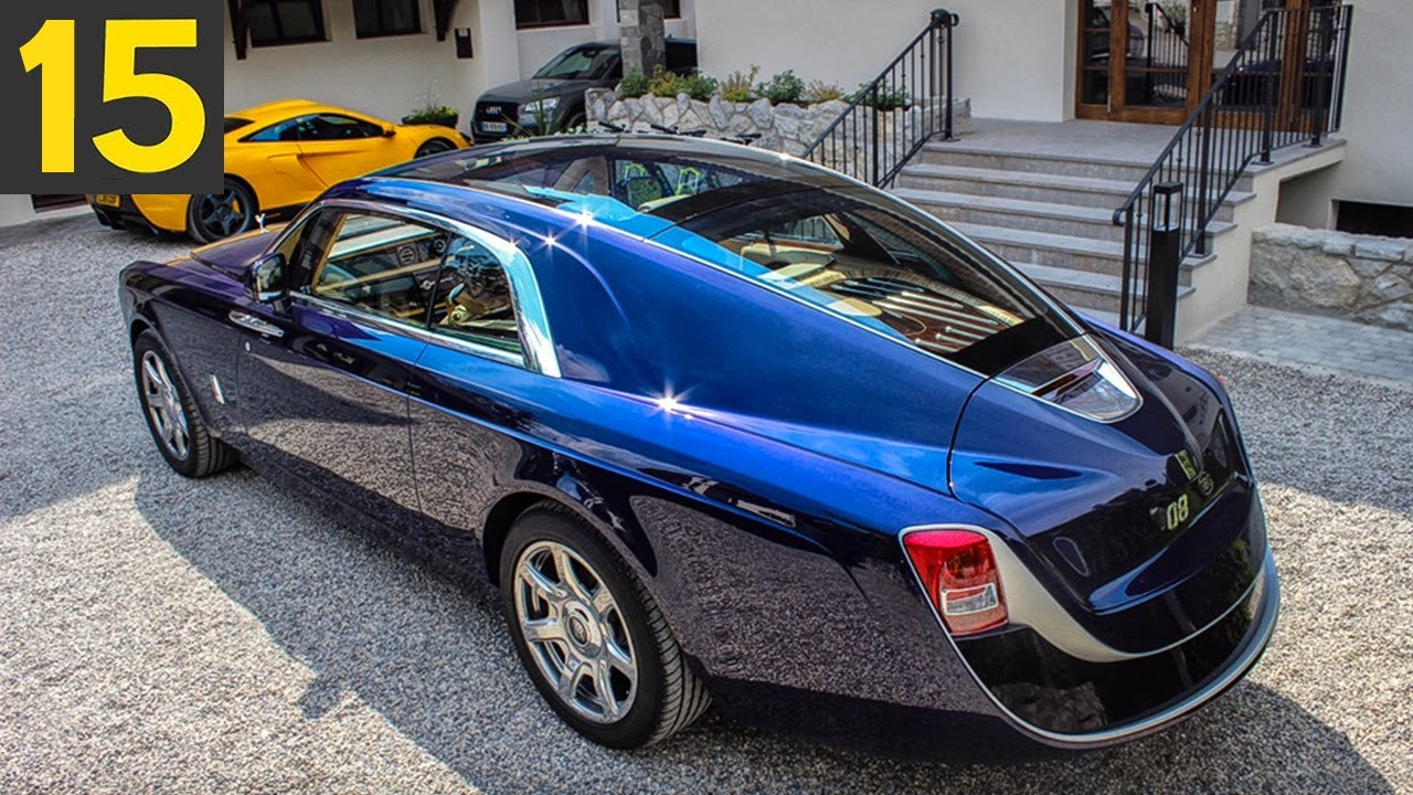 15 INSANE Cars Billionaires Drive