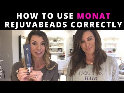 How To Use Monat Rejuvabeads and Other Styling Products