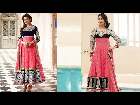 Anarkali Gown DIY | 24 panel Anarkali dress Drafting, cutting and stitching (ENGLISH SUBTITLE)