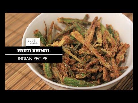 Fried Bhindi   How To Make Kurkuri Bhindi   Indian Sabzi   Simply Jain