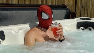 Download Spiderman In Real Life : Vacation Time Video