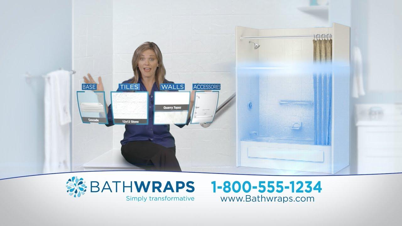 Bathwraps Open the Door to Bathwraps - 2min Spot