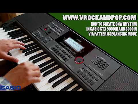 Download HOW TO MAKE YOUR OWN RHYTHM (STYLE) IN CTX 9000IN