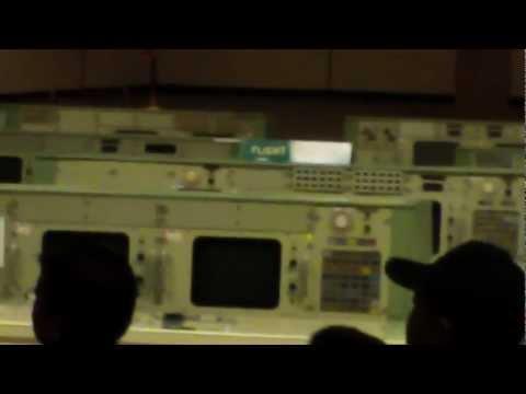 NASA mission control in Houston Texas Johnson Space Center