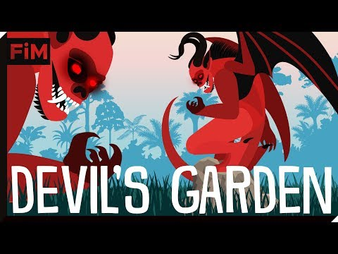 What is a Devil's Garden and How is it formed?
