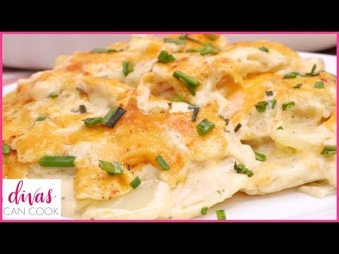 How To Make The BOMB Southern Scalloped Potatoes