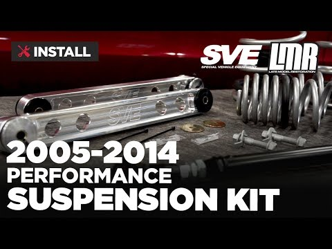 2005-2014 Mustang SVE Suspension Kit - Install & Review
