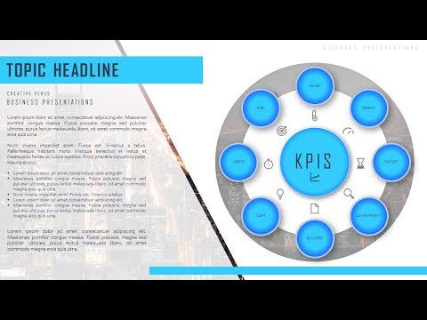 How To Design Beautiful Business Components, KPIs Slide in Microsoft Office 365 PowerPoint PPT