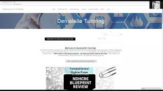 Dentalelle videos by dentalelle new blueprint for dental hygiene national exam malvernweather Images