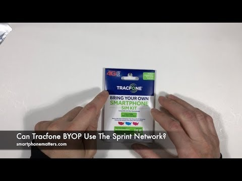 Can Tracfone BYOP Use The Sprint Network?