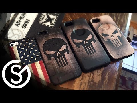 GunSkins Phone Skin DIY Install Tutorial for iphone 5/6 Magpul Field Case