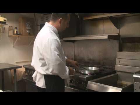 Salmon in Prickly Pear Beurre Blanc Sauce - Salvatore Scarlata Favorite Recipe #1