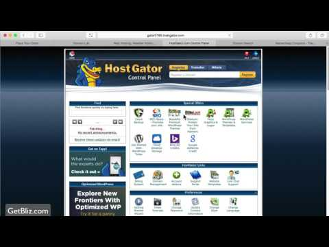 How to launch a Wordpress site with HostGator (tutorial)