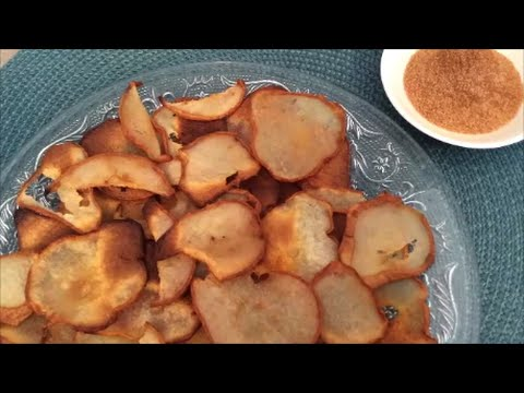 3 Ingredient Pear Chips - Rise Wine & Dine - Episode 26