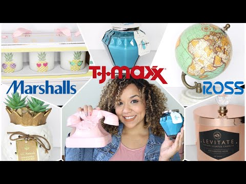 TJ Maxx, Marshall's and Ross Home Decor Haul
