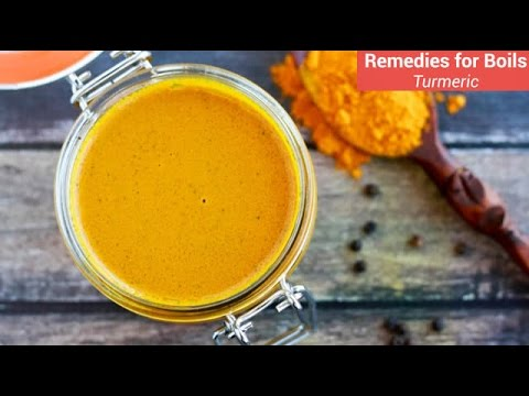 Home Remedies : Turmeric for Boils