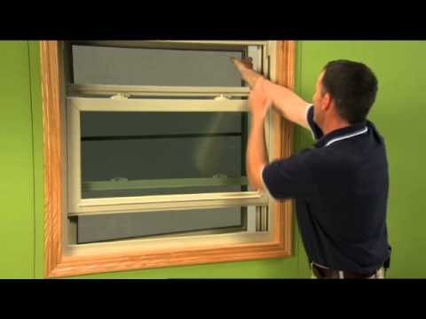How to Replace the Screen on a Double Hung Window