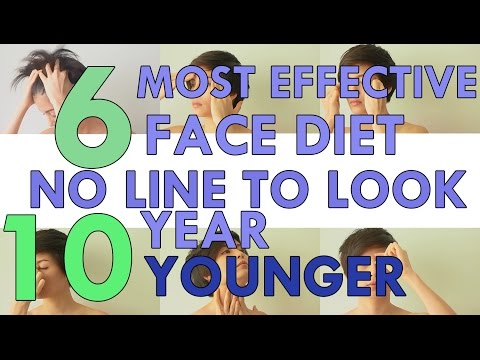 6 MOST EFFECTIVE FACE DIET NO-LINE TO LOOK 10 YEAR YOUNGER  6 วิธีลดริ้วรอยบนใบหน้า อ่อนกว่าวัย