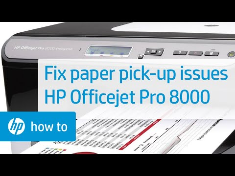 Fixing Paper Pick Up Issues - HP Deskjet 3520 e-All-in-One